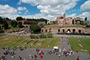 View of Palatine Hill from the Colosseum