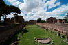 Exploring the Roman ruins on Palatine Hill