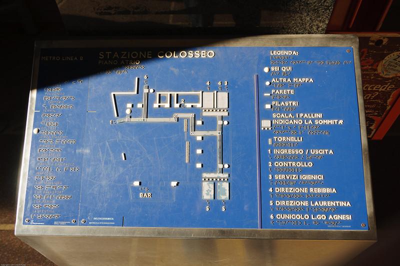colosseo metro stop