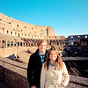 Denise & Erik on the Colosseum top floor
