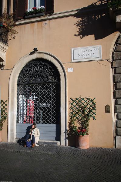 Piazza Navona: People watching