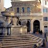 Piazza di S. Maria in Trastevere
