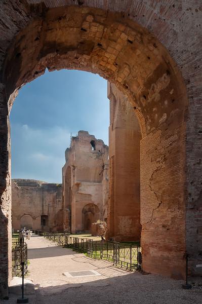 Passage. Terme Caracalla