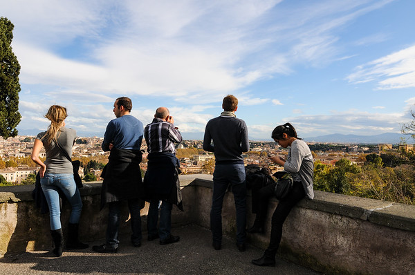 View from Janiculum Hill