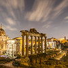 Foro Romano by night