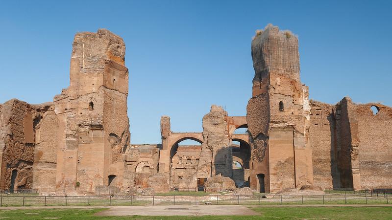 Ruins of Terme Caracalla