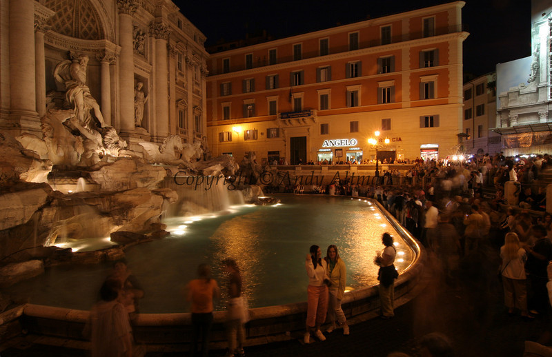 Trevi Fountain Dusk (3)