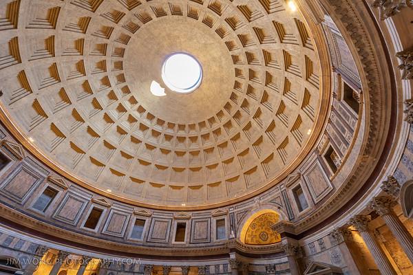 Oculus, Pantheon, Rome