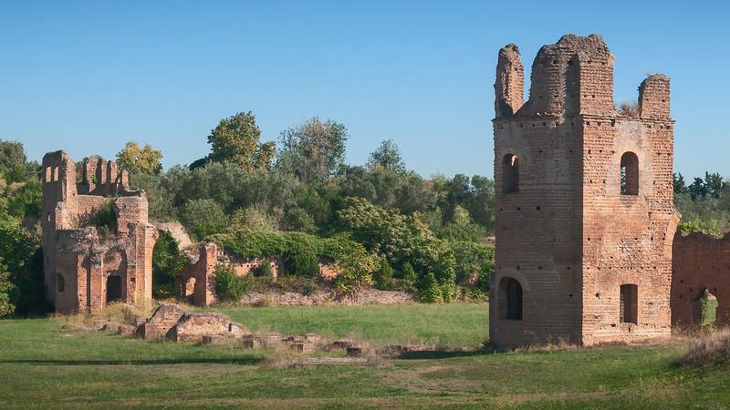 Ruins of a Villa in Via Appia