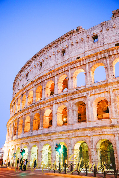#ColosseumSunset