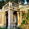 The Garden of the National Gallery of Ancient Art in Barberini Palace - Il Giardino della Galleria Nazionale di Arte Antica nel Palazzo Barberini - Roma