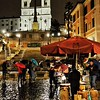 """Castagne + Rain + Spagna = Bellissima!"" - Roma"
