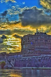 """Castle Glow"" - Castel Sant'Angelo - Roma"