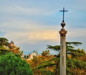 """""""Altare Alla Sera"""" - A Partire dal Piazza di San Pietro in Montorio"""