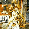 """""""All in a Day's Work, Neptune Fighting an Octopus"""" - Piazza Navona - Roma"""