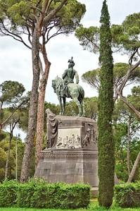 """Re Umberto I"" - Villa Borghese - Roma"