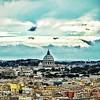 """""""Piercing Blue"""" - San Pietro - Roma"""