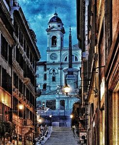 """Una Spagna Calma - A Calm Spagna"" - Roma"