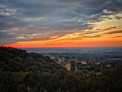 """""""Tramonto da Frascati"""" - Sunset from Frascati - Frascatti, Italia"""