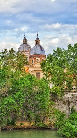 """Domes of Lungotevere in Augusta - Cupole del Lungotevere in Augusta"" - Roma"