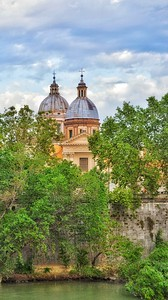 """""""Domes of Lungotevere in Augusta - Cupole del Lungotevere in Augusta"""" - Roma"""