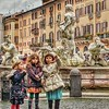 """Aw""""Wide Eyed in Navona"""" - Roma"""