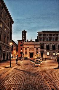 """""""Peaceful Silvestro"""" - Piazza San Silvestro - Roma"""