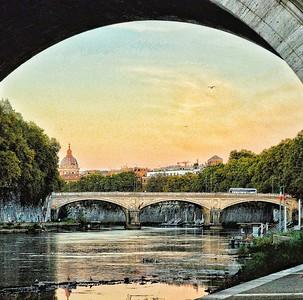 """Tevere Evening"" - Roma"