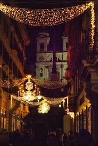 """Condotti at Christmas"" - Roma"