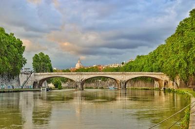 """Ponte Umberto I"" - Roma"