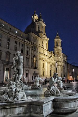 """Nocturnal Navona"" - Roma"