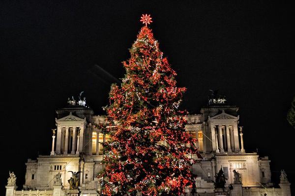 """Buon Natale"" - Grazie Netflix! - Piazza Venezia Roma"