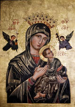 """""""Madonna Del Perpetuo Soccorso"""" - Chiesa di S. Maria in Monterone - Roma"""