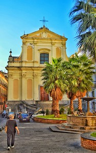 """The Addolorata Church and Convent of St. Sofia - Salerno"