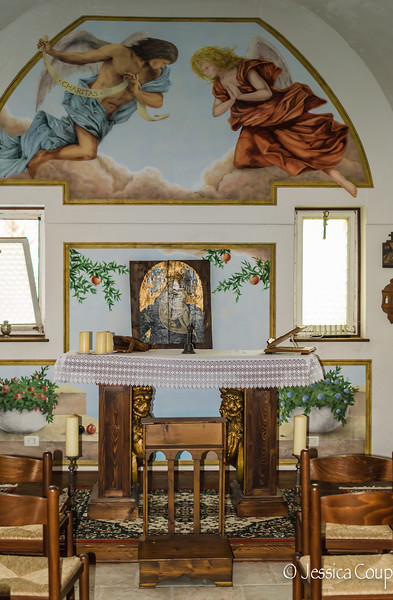 Inside the Tiny Church
