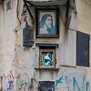 Shrine in the Midst of Graffiti