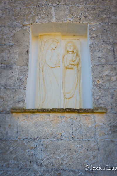Mary and the Angel Shrine