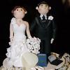 Anche sulla torta nunziale Andrea si porta il pc con Excel