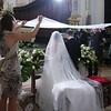 Il rito del velo, che simboleggia lo Spirito Santo