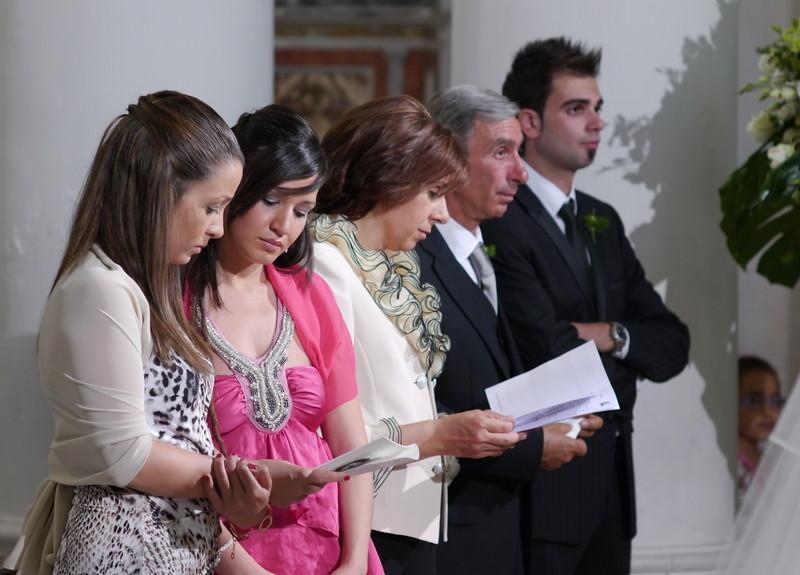 Sara, Rosaura, Maria, Agrippino, Carlo