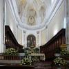 L'interno della chiesa di Sant'Agrippina a Mineo, molto bella