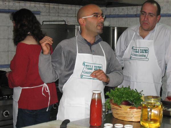 Villa Dafne Cooking Class