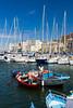 The marina, Marina Villa Igiea (Acquasanta) in Palermo, Sicily, Italy.