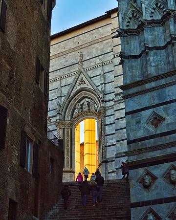 """Climbing to the Light"" - Siena, Italia"