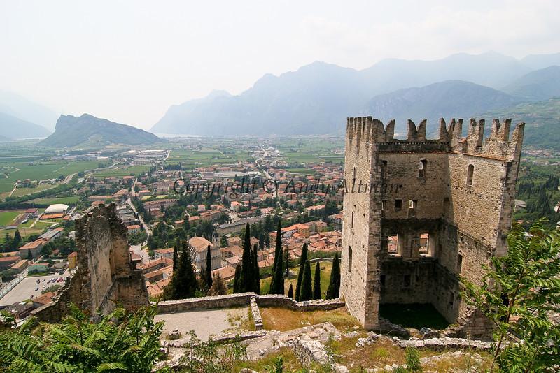 Arco Castle & Lake Garda