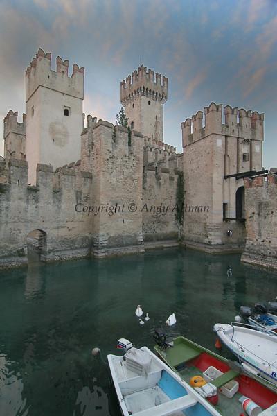 Entrance Castle, Sirmione