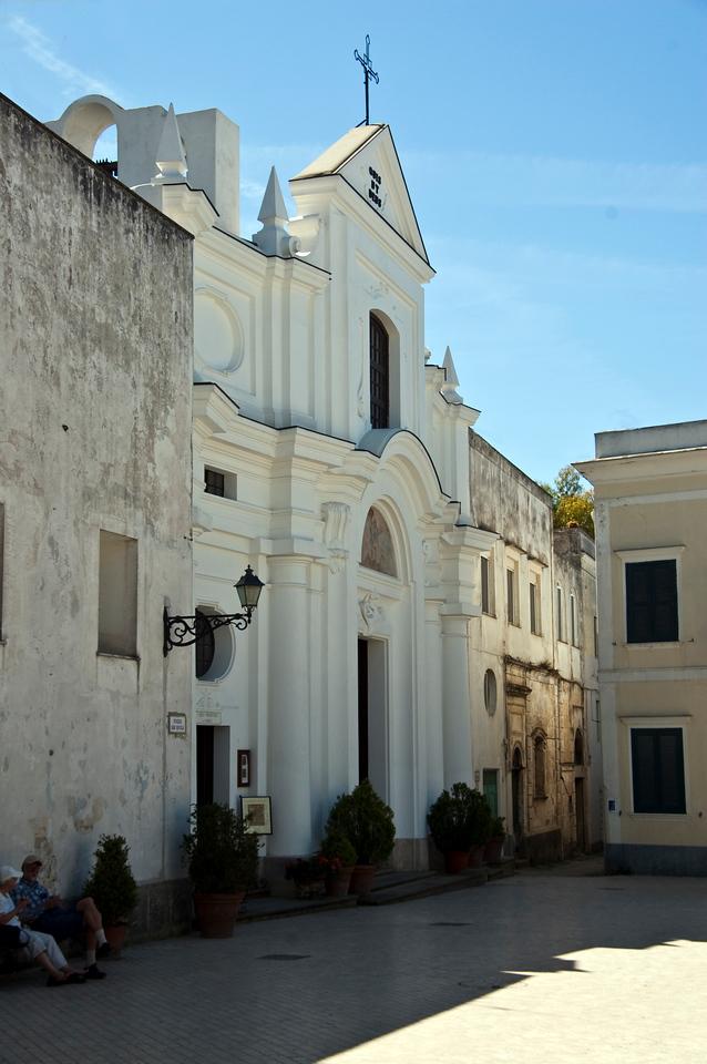 Chiesa St. Michel, Anacapri, Italy