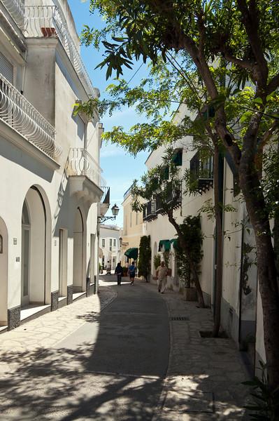 Street in Capri