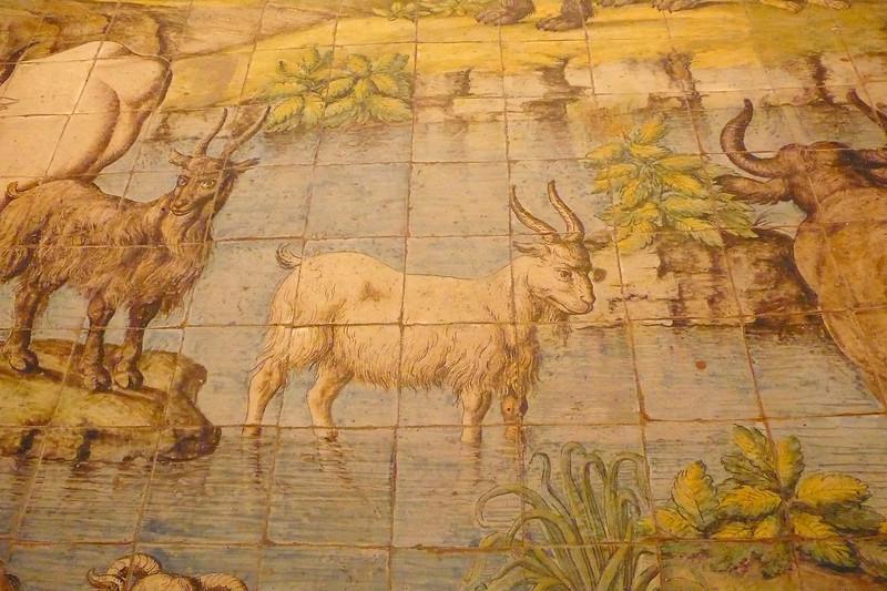 Mosaic floor #1 Chiesa St. Michel