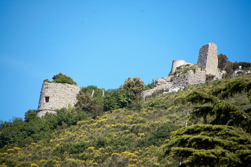 Castle ruins, Capri
